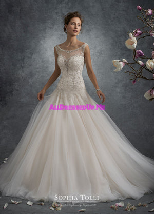 Sophia Tolli - Y21748 - Ursa - All Dressed Up, Bridal Gown - Mon Cheri - - Wedding Gowns Dresses Chattanooga Hixson Shops Boutiques Tennessee TN Georgia GA MSRP Lowest Prices Sale Discount