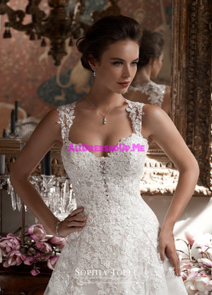 Sophia Tolli - Y21750LS - Orion - All Dressed Up, Bridal Gown - Mon Cheri - - Wedding Gowns Dresses Chattanooga Hixson Shops Boutiques Tennessee TN Georgia GA MSRP Lowest Prices Sale Discount