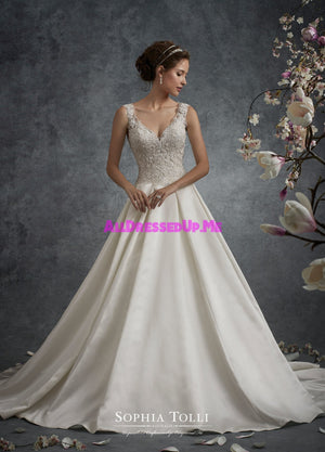 Sophia Tolli - Y21756 - Neptune - All Dressed Up, Bridal Gown - Mon Cheri - - Wedding Gowns Dresses Chattanooga Hixson Shops Boutiques Tennessee TN Georgia GA MSRP Lowest Prices Sale Discount