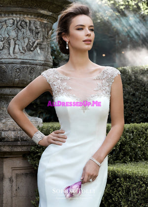 Sophia Tolli - Y21758LS - Nova - All Dressed Up, Bridal Gown - Mon Cheri - - Wedding Gowns Dresses Chattanooga Hixson Shops Boutiques Tennessee TN Georgia GA MSRP Lowest Prices Sale Discount