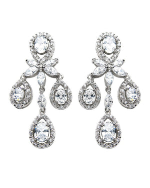 David Tutera Embellish - Sophia Earrings - All Dressed Up, Jewelry