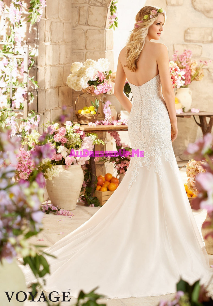 Voyage - 6807 - All Dressed Up, Bridal Gown - Morilee - - Wedding Gowns Dresses Chattanooga Hixson Shops Boutiques Tennessee TN Georgia GA MSRP Lowest Prices Sale Discount