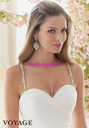 Voyage - 6833 - All Dressed Up, Bridal Gown - Morilee - - Wedding Gowns Dresses Chattanooga Hixson Shops Boutiques Tennessee TN Georgia GA MSRP Lowest Prices Sale Discount