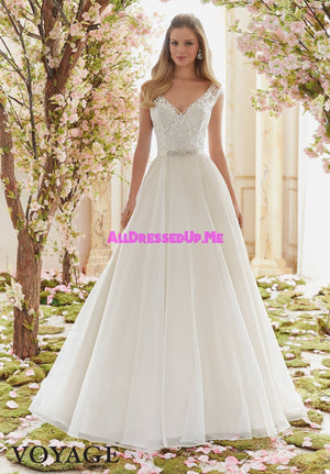 Voyage - 6836 - Cheron's Bridal, Wedding Gown - Morilee - - Wedding Gowns Dresses Chattanooga Hixson Shops Boutiques Tennessee TN Georgia GA MSRP Lowest Prices Sale Discount
