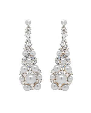 David Tutera Embellish - Yasmeen Drop Earrings - All Dressed Up, Jewelry