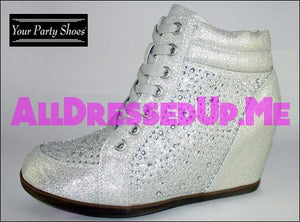 Your Party Shoes - Billie Jean - All Dressed Up - 5 - Prom Wedding Bridal Platforms High Heels Wedges Children's Beaded Bling Jeweled Sparkle Special Occasions Event Chattanooga Hixson Shops Boutiques Tennessee TN Georgia GA MSRP Lowest Prices Sale Discount