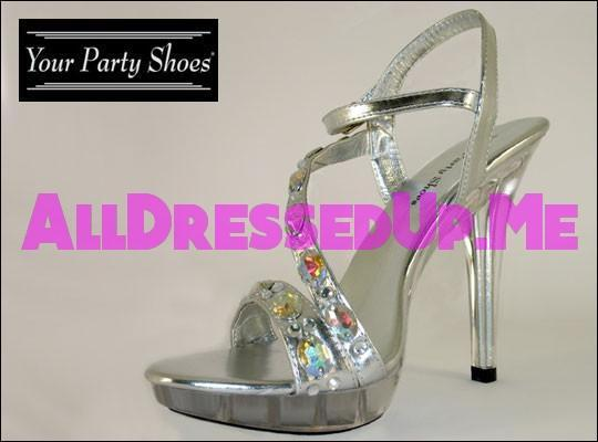 Your Party Shoes - Estelle - All Dressed Up - 5 - Prom Wedding Bridal Platforms High Heels Wedges Children's Beaded Bling Jeweled Sparkle Special Occasions Event Chattanooga Hixson Shops Boutiques Tennessee TN Georgia GA MSRP Lowest Prices Sale Discount