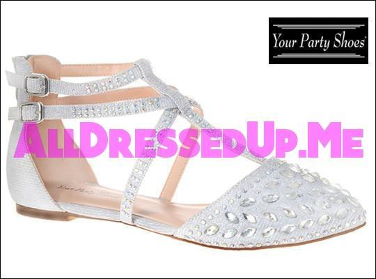 Your Party Shoes - Jasmine - All Dressed Up - 5 - Prom Wedding Bridal Platforms High Heels Wedges Children's Beaded Bling Jeweled Sparkle Special Occasions Event Chattanooga Hixson Shops Boutiques Tennessee TN Georgia GA MSRP Lowest Prices Sale Discount