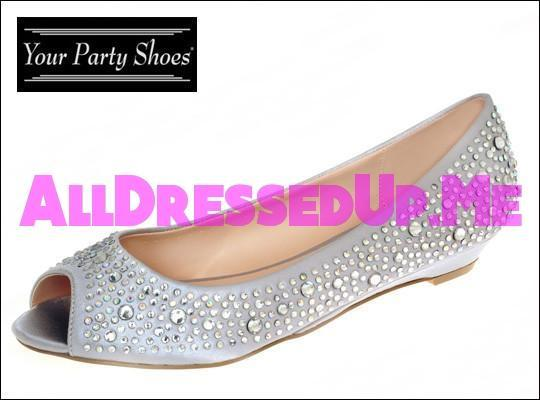 Your Party Shoes - Kennedy - All Dressed Up - 5 - Prom Wedding Bridal Platforms High Heels Wedges Children's Beaded Bling Jeweled Sparkle Special Occasions Event Chattanooga Hixson Shops Boutiques Tennessee TN Georgia GA MSRP Lowest Prices Sale Discount