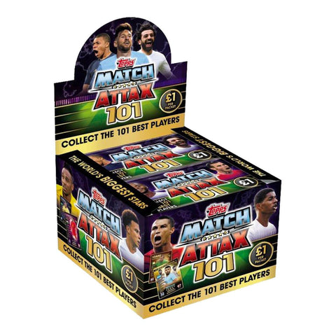 Match Attax 101 Trading Card 50 Packs (Box)