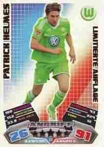 Match Attax Germany 2012/2013 Patrick Helmes Limited Edition 12/13