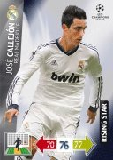 Champions League Adrenalyn XL 2012/2013 Jose Callejon 12/13 Rising Star