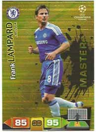 Champions League Adrenalyn XL 2011/2012 Frank Lampard Master Chelsea 11/12