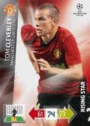 Champions League Adrenalyn XL 2012/2013 Tom Cleverley 12/13 Rising Star