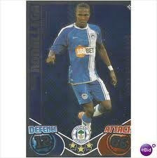 Hugo RODALLEGA Star Player Individual Match Attax 2010/11 Trading Card