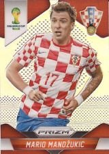Panini Prizm World Cup Brazil 2014 Base Card # 120 Mario Mandzukic Croatia
