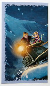 Disney Frozen Kristoff & Anna Individual Sticker No.92