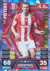 Match Attax 2013/2014 Erik Pieters Stoke City Star Signing 13/14
