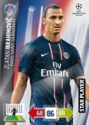Champions League Adrenalyn XL 2012/2013 Zlatan Ibrahimovic 12/13 Star Player