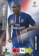 Champions League Adrenalyn XL 2012/2013 Mamadou Sakho 12/13 Rising Star