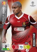 Champions League Adrenalyn XL 2012/2013 Joshua John 12/13 Rising Star