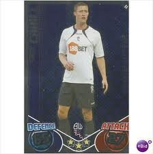 Gary CAHILL Star Player Individual Match Attax 2010/11 Trading Card
