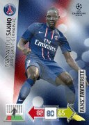 Champions League Adrenalyn XL 2012/2013 Mamadou Sakho 12/13 Fans Favourite