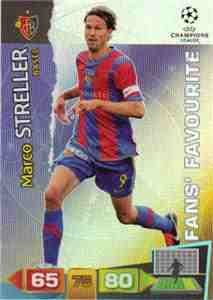 Champions League Adrenalyn 2011/2012 Marco Streller Fans Favourite 11/12