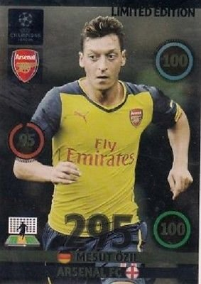 Champions League Adrenalyn XL 2014/2015 Mesut Ozil 14/15 Limited Edition