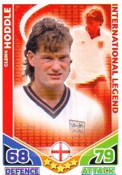 Match Attax ENGLAND Base Card ENGLAND Hoddle