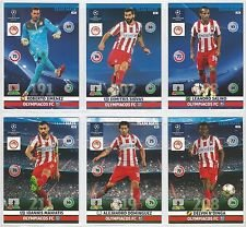 Champions League Adrenalyn XL 2014/2015 Olympiacos/Olympiakos Base Card Team Set 14/15