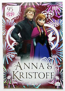 Disney Frozen Anna & Kristoff Holographic Foil Trading Card #110