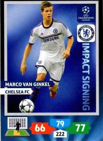 Champions League Adrenalyn XL 2013/2014 Marco Van Ginkel 13/14 Impact Signing