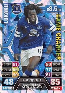Match Attax Extra 2013/2014 Romelu Lukaku Game Changer 13/14