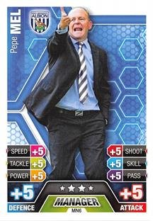 Match Attax Extra 2013/2014 Pepe Mel West Brom Manager 13/14