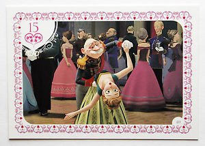 Disney Frozen Anna & The Duke Movie Story Trading Card #40