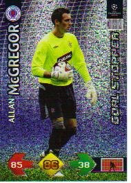 Champions League Super Strike 09-10 STOPPER McGregor