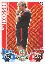 Roy HODGSON Manager Individual Match Attax 2010/11 Trading Card