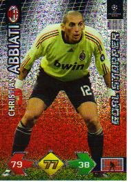 Champions League Super Strike 09-10 STOPPER Abbiati