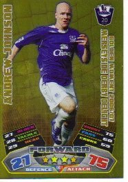 Match Attax 2011/12 Golden Moments GM31 Andrew Johnson