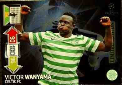 Champions League Adrenalyn XL Update 2012/2013 Victor Wanyama 12/13 Limited Edition