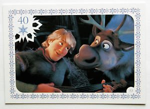Disney Frozen Kristoff & Sven Movie Story Trading Card #53