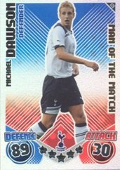 Match Attax 2010-11 Man of the Match DAWSON