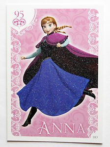 Frozen Series 1 Activity Card Collection Glitter Cards