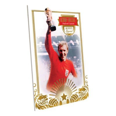 Panini Bobby Moore World Cup 1966 England Captain Legend Limited Edition Trading Card West Ham