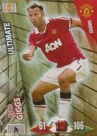 Adrenalyn XL Ryan Giggs Ultimate 2010/2011 Manchester United 10/11