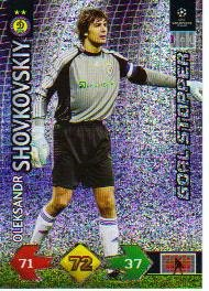 Champions League Super Strike 09-10 STOPPER Shovkovskiy
