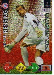 Champions League Super Strike 09-10 STOPPER Rensing