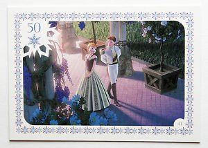 Disney Frozen Anna & Prince Hans Movie Story Trading Card #41