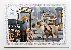 Disney Frozen Kristoff & Sven Movie Story Trading Card #33